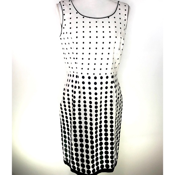 Studio Dresses & Skirts - White Polka Dot Dress